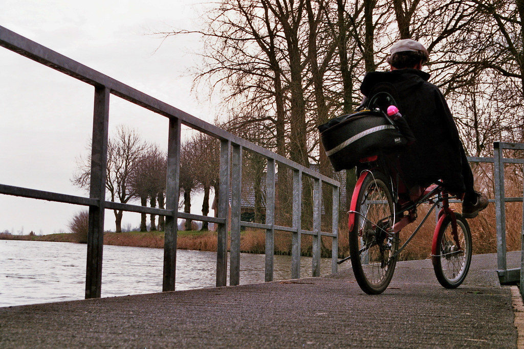 Drijvend fietspad Provincie Drenthe